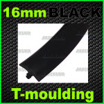 16mm Black T-moulding