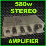 580WATT- STEREO AMP