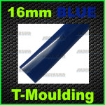16mm Blue T-moulding