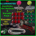 2x ILL Joy&18 ILL Buttons,Encoder web