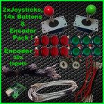Joy&14 ILL Buttons,Encoder web