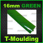16mm Green T-moulding