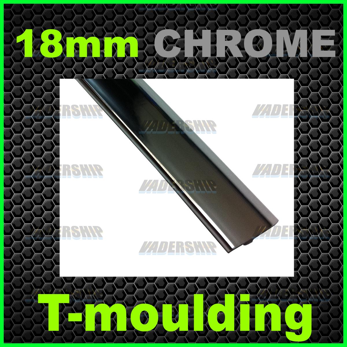 18mm CHROME T-Moulding